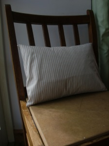 Simple Envelope Style Pillow Case Free Tutorial