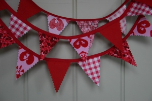 Mini Bunting by Little Black Duck