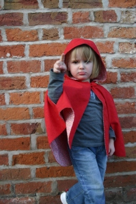 Little Red Riding hood Cape: Last one mummy