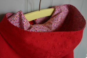 Little Red Riding Hood Cape: Hood Detail