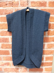 Abalone knitted cardigan