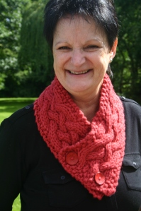 My Lovely Mum in her Breckenridge Cowl
