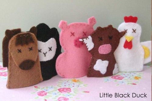 Famyard Friends Sewing Pattern