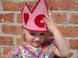 Charlotte's Felt Birthday Crown