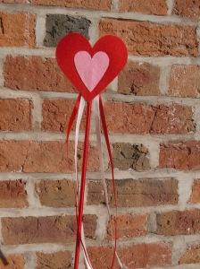 Felt Heart Wand