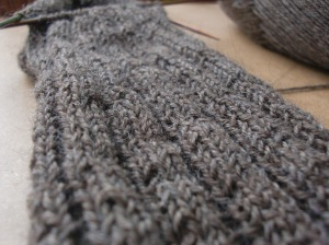 Globe Trotter Socks stitch detail