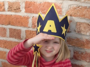 Felt Star Crown and Wand Sewing Pattern