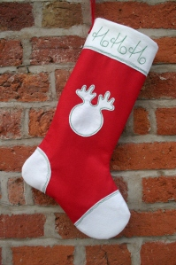 Felt Christmas Stocking Sewing Patetrn