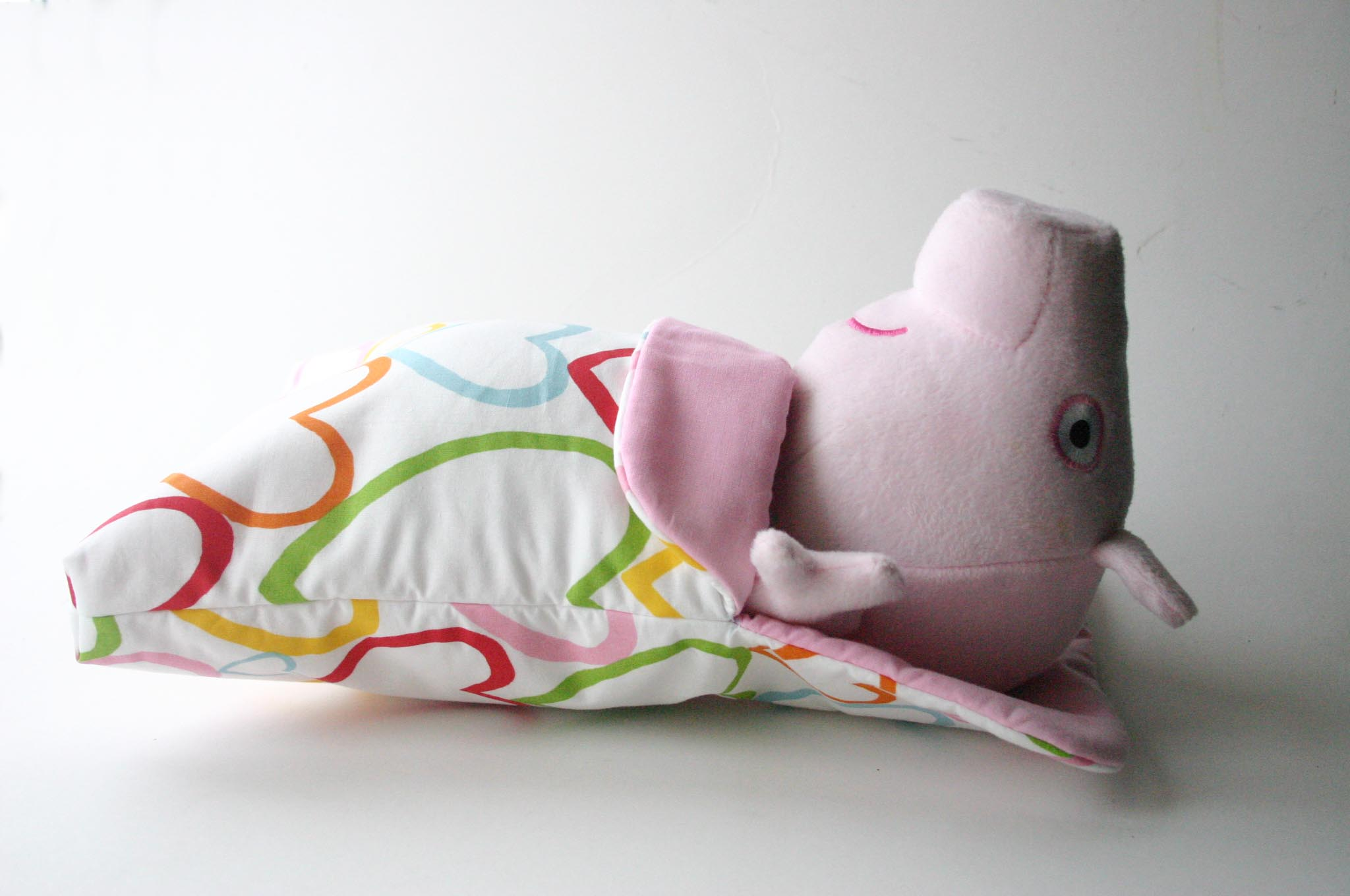 Peppa Pig in Doll and Teddy Sleeping Bag