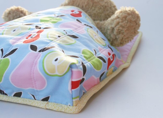 Doll and Teddy Sleeping Bag Base Detail