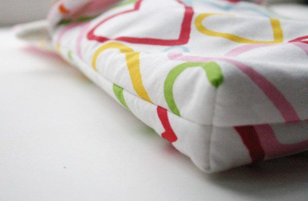 Doll and Teddy Sleeping Bag Sewing Pattern Base Detail