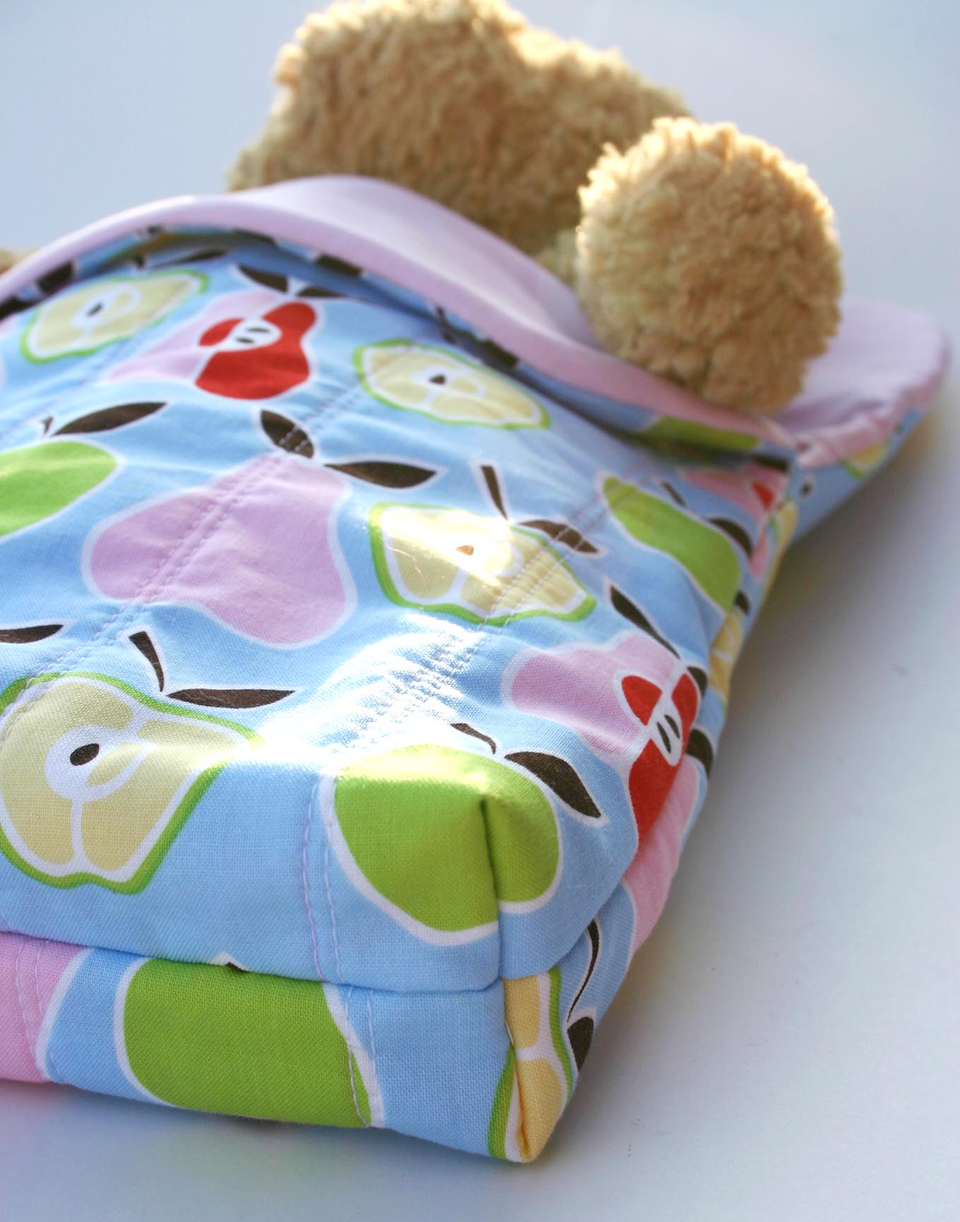 Doll and Teddy Sleeping Bag Sewing Pattern