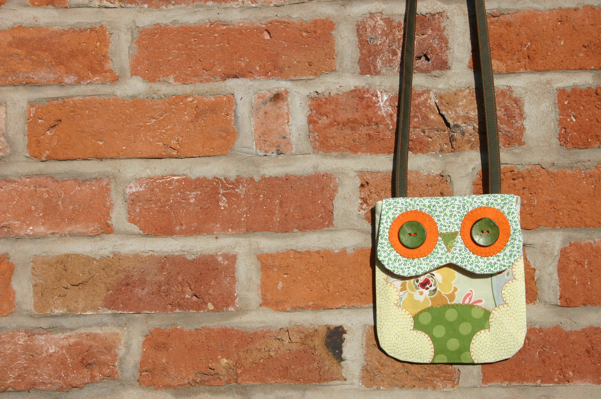 Owl Mini Bag Sewing Pattern