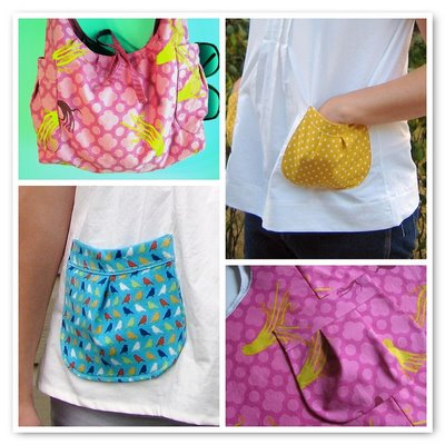 Made by Rae: Pleated Patch Pocket Tutorial