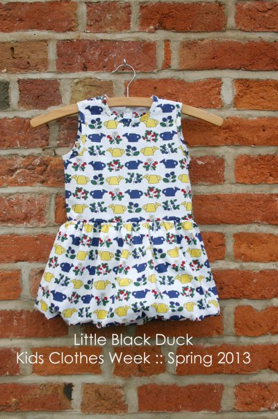 Peplum Bubble Dress