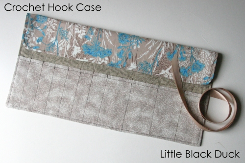 Crochet Hook Case Open