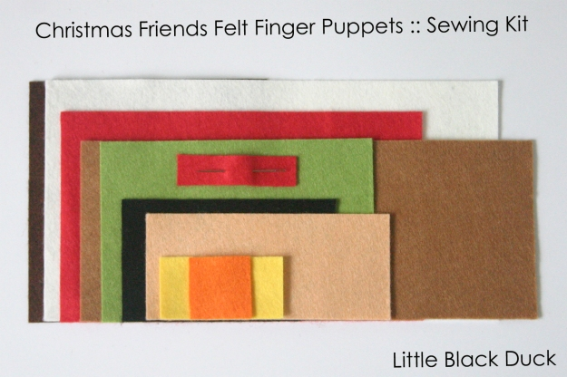 Christmas Friends Kit Felt Logo and Text