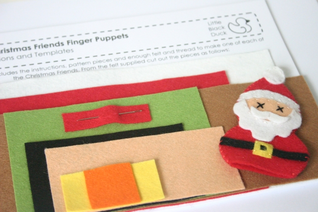 Christmas Friends Kit Instructions