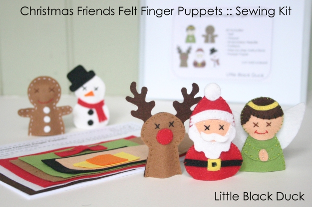 Christmas Friends Kit Main Logo and Text