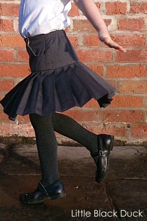 Schoolday Skirt Twirl 1
