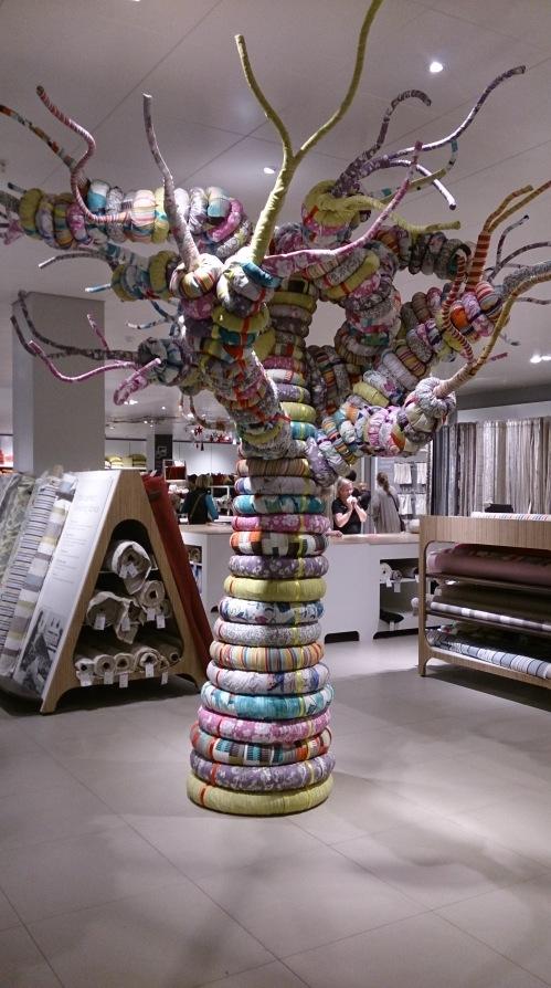 John Lewis fabric merchandising