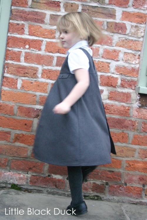 Music Box Jumper Dress Twirl