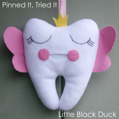 Tooth Fairy Pillow Front