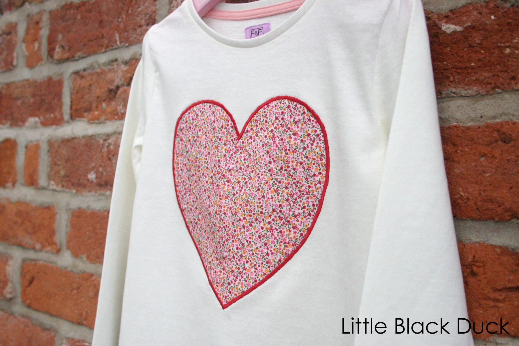Applique heart t shirt free templates victoria peat little