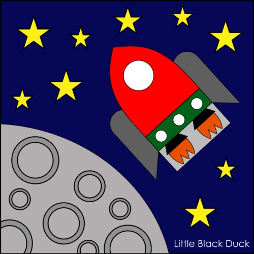 Rocket Finger Puppet Pattern ... Coming Soon