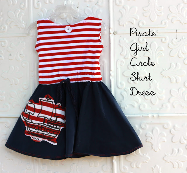 Pirate Dress by Sew Country Chic