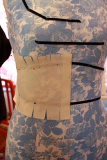 Gertie's Blog for Better Sewing :: Draping a Dress